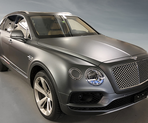 video celcius covering luxury bentley